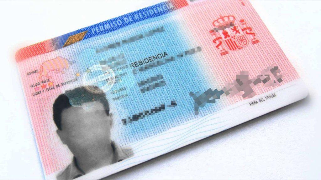 contratar a extranjeros tarjeta identificación