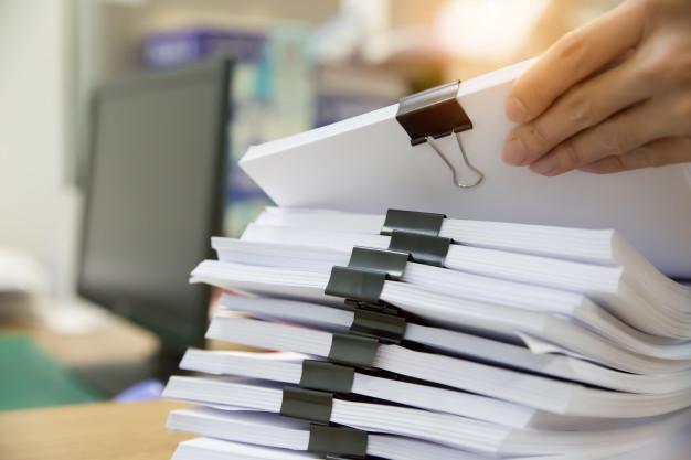 dnp documentación en papel