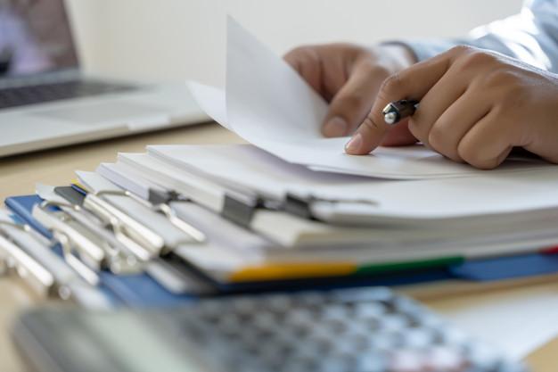 documentación en papel dnp